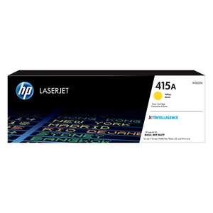 HP 415A Yellow Original LaserJet Toner Cartridge - M454 / M479