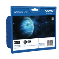 Brother LC1280XL Black Ink Twin Pack