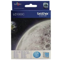 Brother LC1000C Cyan Ink Cartridge