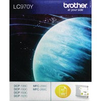Brother LC970Y Yellow Inkjet Cartridge