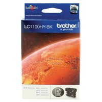 Brother LC1100 Black Ink LC-1100HYBK