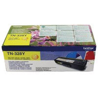 Brother TN-328Y / TN328Y Yellow Toner