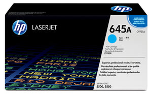 HP C9731A Cyan Toner Cartridge 645A - HP 5500 / 5550