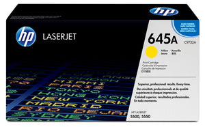 HP C9732A Yellow Toner Cartridge 645A - HP 5500 / 5550