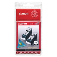 Canon PGI-520 Black Cartridges Twin Pack
