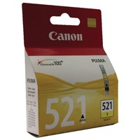 Canon CLI-521Y Yellow Inkjet Cartridge