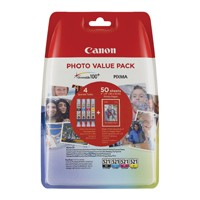 Canon CLI-521 Photo Cartridges Value Pk