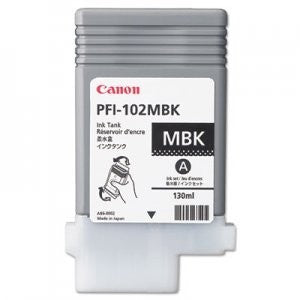Canon PFI-102MBK Matte Black Ink Cartridge 0894B001AA