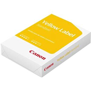 Canon Yellow Label A4 Paper 80gsm (Box of 10 Reams)