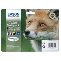 Epson T1285 Bk/Cy/Mg/Yw Cartridge Pack