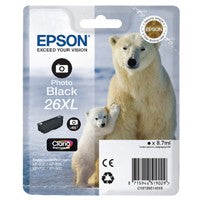 Epson 26XL Photo Black Cartridge T2631