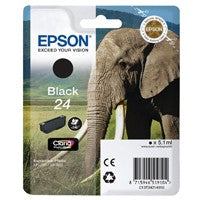 Epson 24 Black Inkjet Cartridge T2421