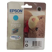 Epson T0612 Cyan Inkjet Cartridge