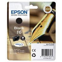 Epson 16 Black Inkjet Cartridge T1621