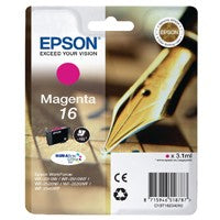 Epson 16 Magenta Inkjet Cartridge T1623