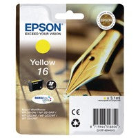 Epson 16 Yellow Inkjet Cartridge T1624