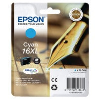 Epson 16XL Cyan Inkjet Cartridge T1632