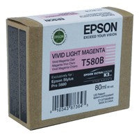 Epson T580B Vivid Light Magenta Ink Cartridge C13T580B00 - Stylus Pro 3880