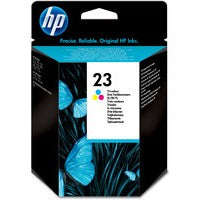 HP 23 Cyan/Magenta/Yellow Ink C1823D