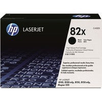 HP C4182X Black Toner Cartridge 82X - HP 8100 / 8150