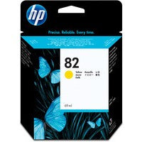 HP 82 Yellow Inkjet Cartridge C4913A
