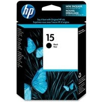 HP 15 Black Ink Cartridge DeskJet C6615D