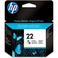 HP 22 Cyan/Magenta/Yellow Ink C9352AE