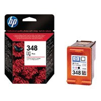 HP 348 Photo Ink Bk/Lt.Cy/Lt.Mag C9369EE