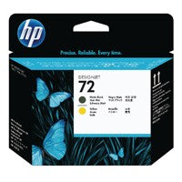 HP 72 Matte Black/Yellow P/Head C9384A