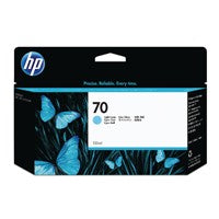 HP 70 Light Cyan Inkjet Cartridge C9390A