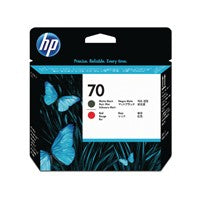 HP 70 Black/Red Printhead Twin C9409A