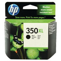 HP 350XL Black H/Y Cartridge CB336EE