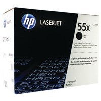 HP CE255X Black High Capacity Toner Cartridge 55X - HP P3015