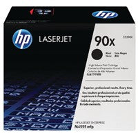 HP CE390X Black High Capacity Toner Cartridge 90X - M4555