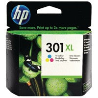 HP 301XL Colour High Capacity Ink Cartridge CH564EE