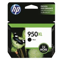 HP 950XL Black High Capacity Ink Cartridge CN045AE