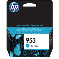 HP 953 Cyan Ink Cartridge F6U12AE#BGX