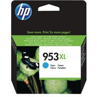 HP 953XL Cyan Ink Cartridge F6U16AE#BGX