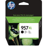HP 957XL Black H/Y Cartridge L0R40AE