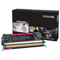 Lexmark C746A2MG Magenta Toner Cartridge