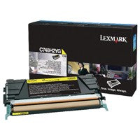 Lexmark C748H2YG Yellow Toner Cartridge