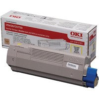 Oki C5650/C5750 Yellow Toner Cartridge