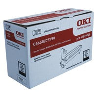 Oki C5650/C5750 Black Drum 43870008