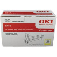 Oki C710 Image Yellow Drum 43913805