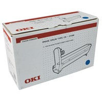 Oki C5000 Series Cyan Drum Unit 42126607