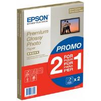 Bundle: Epson Premium Glossy Photo Paper A4 (2 x 15 Sheet Pack)