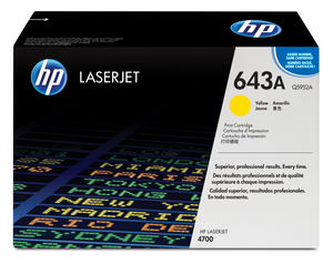 HP 643A Yellow Laserjet Toner Q5952A
