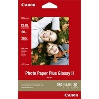 Canon PP-201 5 x 7 inches Photo Paper (20 Sheets)