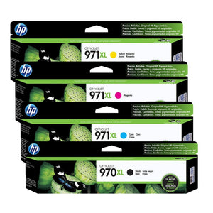 HP 970XL / 971XL High Capacity Ink Cartridge Value Set