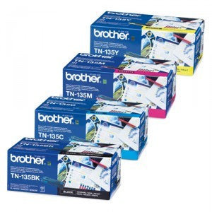 Brother TN-135 B/C/M/Y High Capacity Value Set TN135
